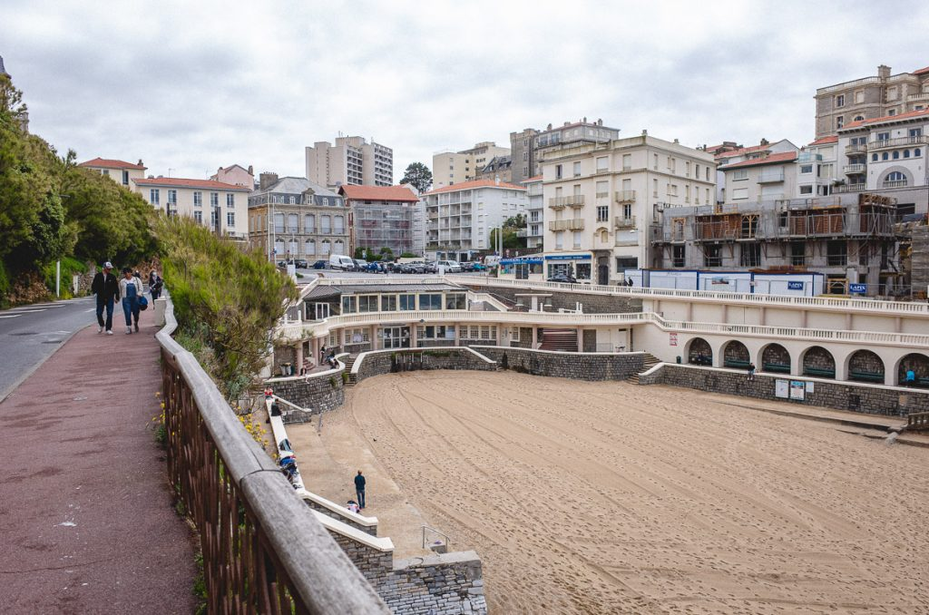 Plage, Biarritz.